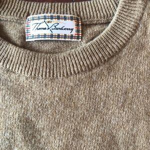 Burberry Camel Lambswool Sweater EUC M